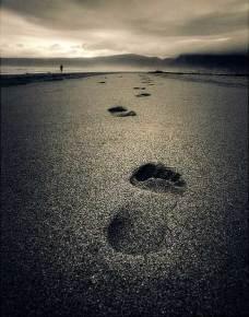jejak kaki