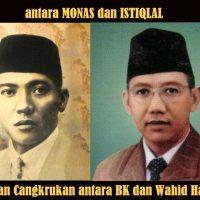 Obrolan Cangkrukan Ir Soekarno Vs KH Wahid Hasyim Soal Monas dan Istiqlal.