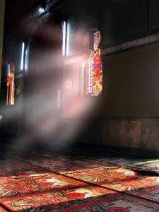 sajadah di masjid