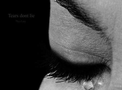 air mata tak pernah bohong
