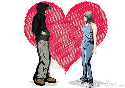 marah romantis