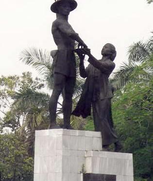 Tembakan Lelaki Borneo