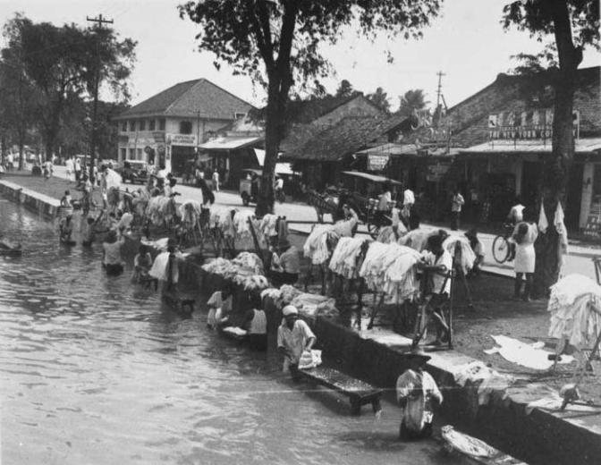 Tukang Cuci, 1932
