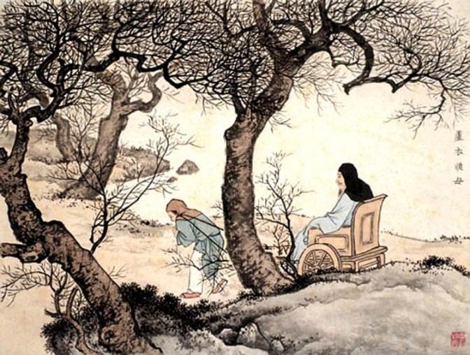 Mengantar Wang Wei Pulang