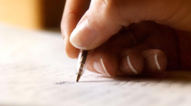 Menulis Sepucuk Surat Panjang